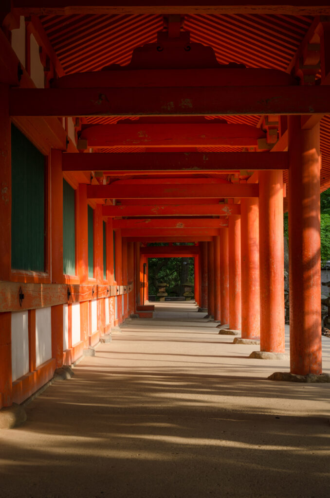 Il Santuario Kasuga. Nara, Giappone