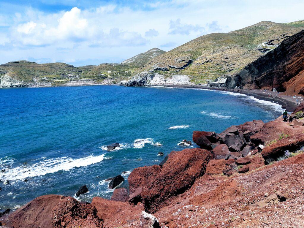 Red beach Akrotiri, Santorini