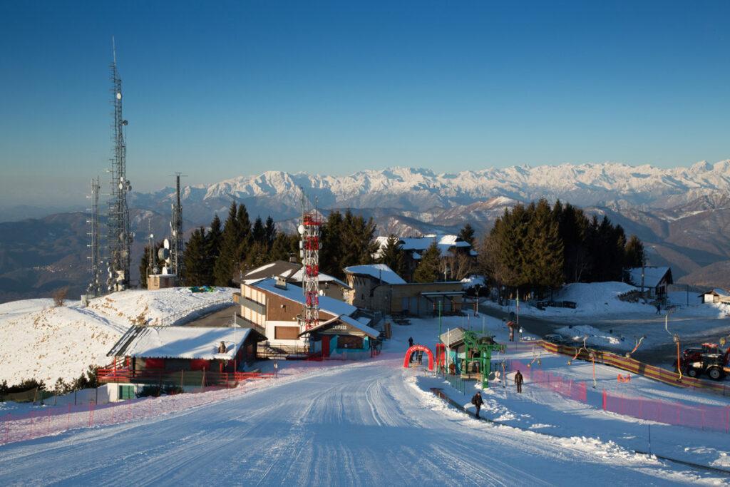 Mottarone: cosa fare se ami sciare - pista da sci al Mottarone