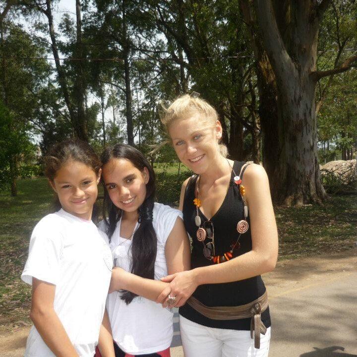 Due giovanissime allieve di Curitiba. Persone eccezionali che ho avuto modo di conoscere grazie alla mia esperienza di lavoro in Brasile.
