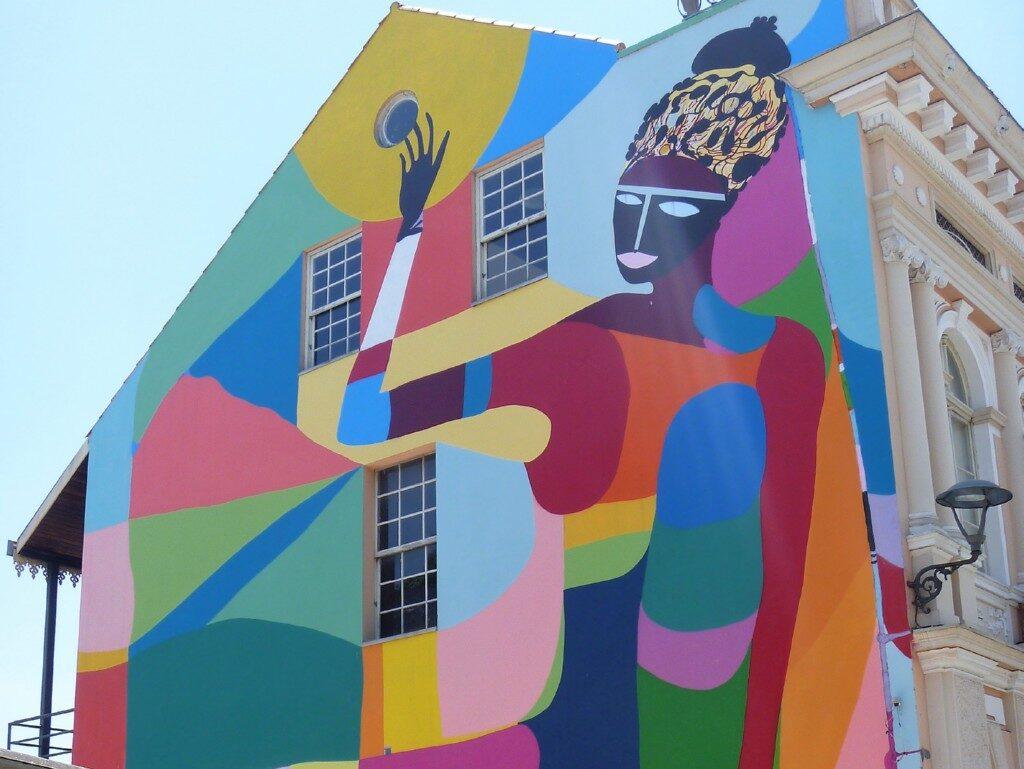 Street Art a Rua São Francisco. Curitiba, Brasile.