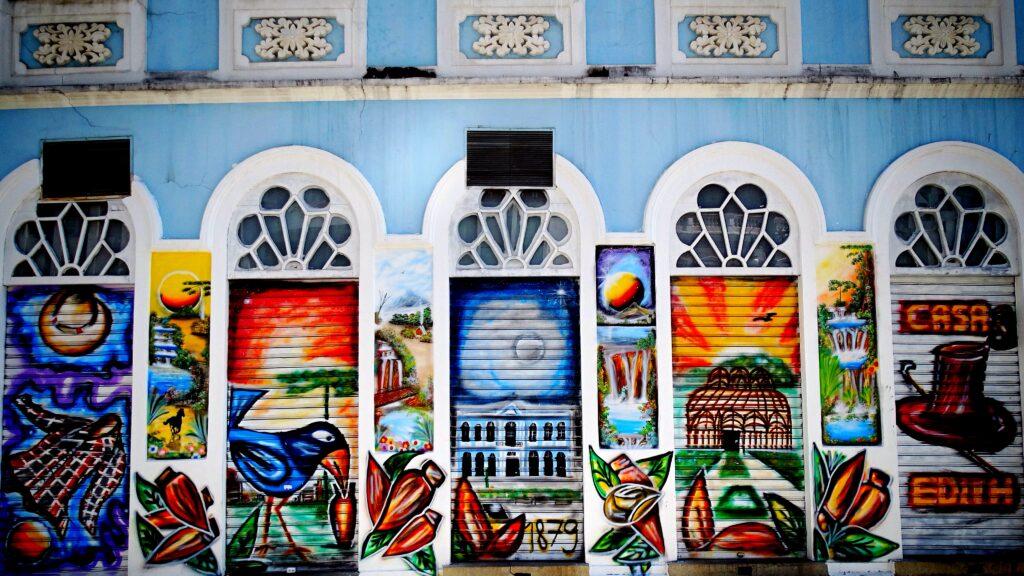 Girovagando, Street Art a Curitiba in Brasile.