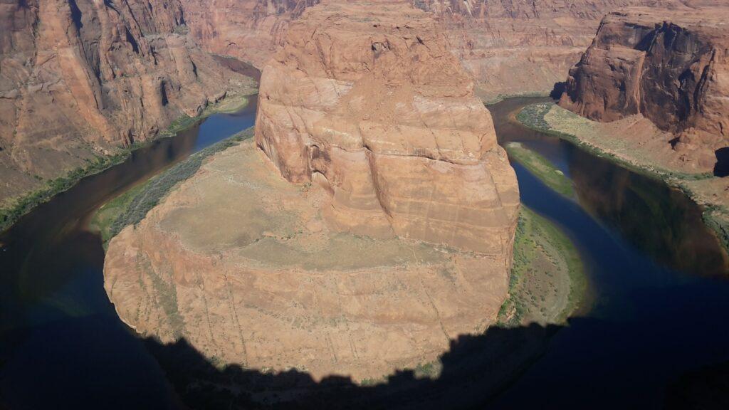 Road Trip in Arizona: vista panoramica dell'Horseshoe Bend